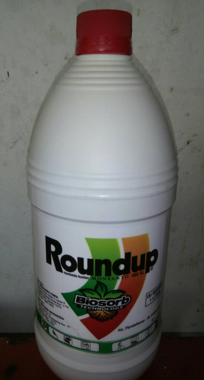 harga Roundup pembasmi rumput liar pekebunan Tokopedia.com