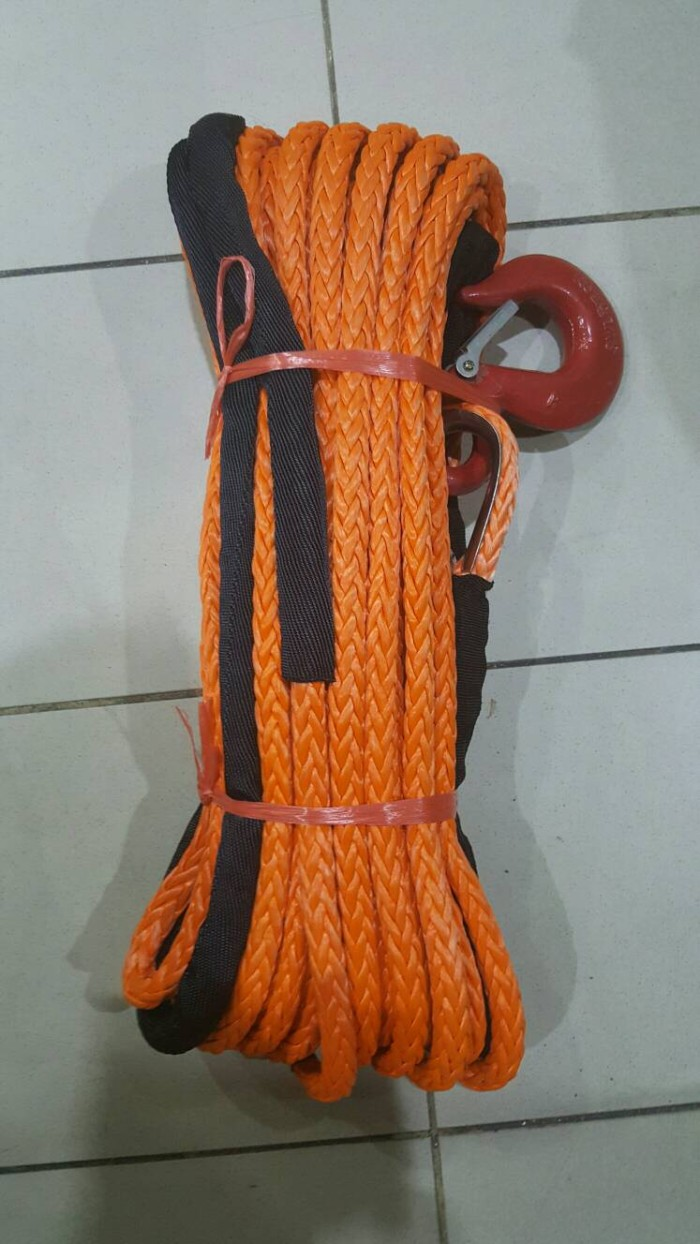 harga Plasma winch rope 16mm/14mm x 40 meter Tokopedia.com