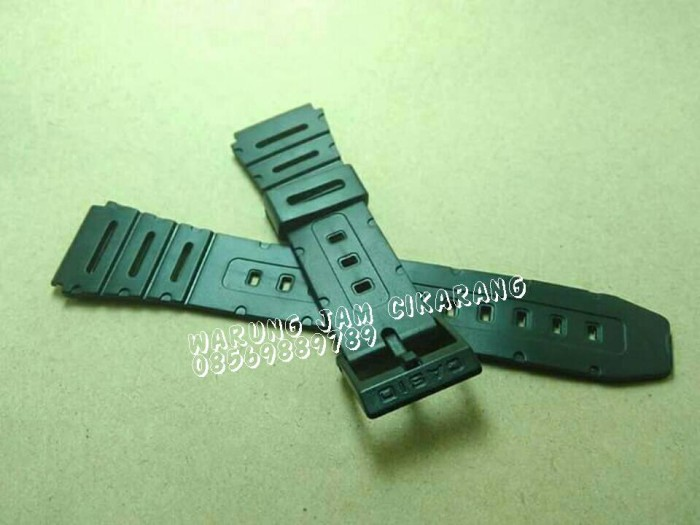 harga Strap watch / tali jam tangan casio kalkulator ca 61 62 55 53w ft 100 Tokopedia.com