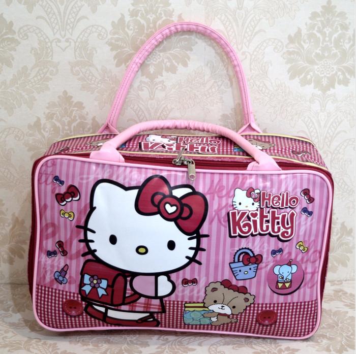 tas koper traveling anak bayi karakter import super HELLO KITTY