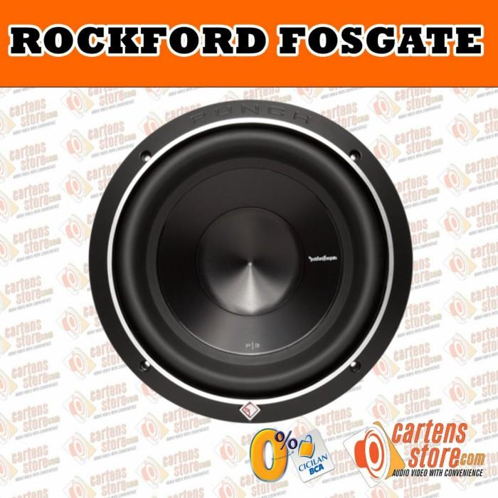 harga Subwoofer rockford punch p3d4 12 inch Tokopedia.com