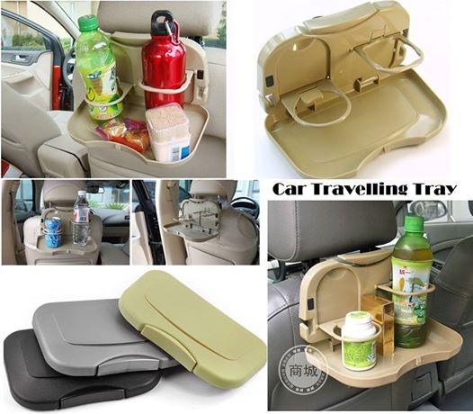 harga Tempat meja makan lipat mobil / portable dining tray / rak minum kursi Tokopedia.com