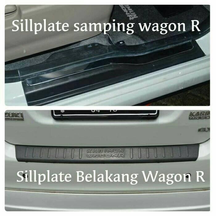 PAKET SIILPLATE SAMPING DAN BELAKANG WAGON R