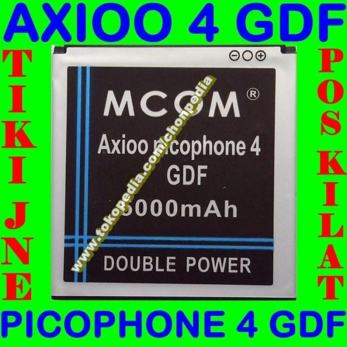 Baterai Axioo Picophone 4 Gdf Mcom M Com Batrai Batre Battery Batere