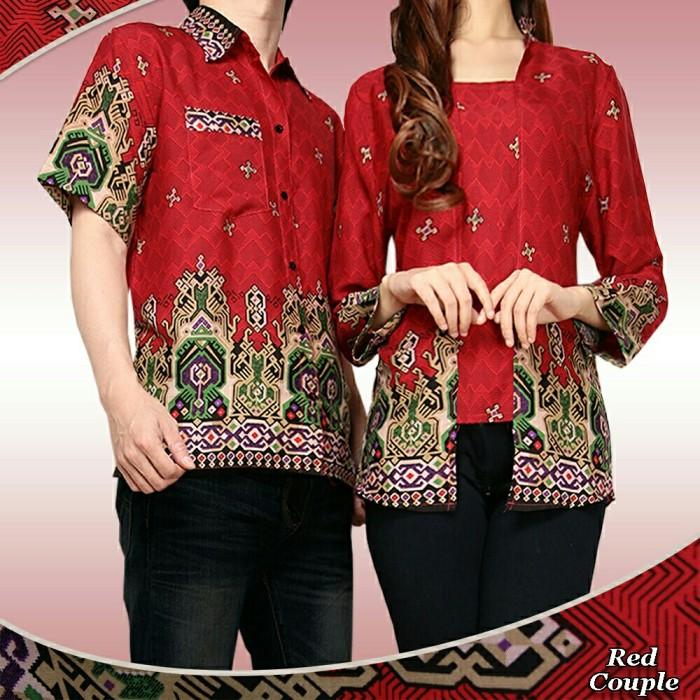 Jual baju batik couple atasan pasangan sarimbit keluarga murah ... d458519dfa