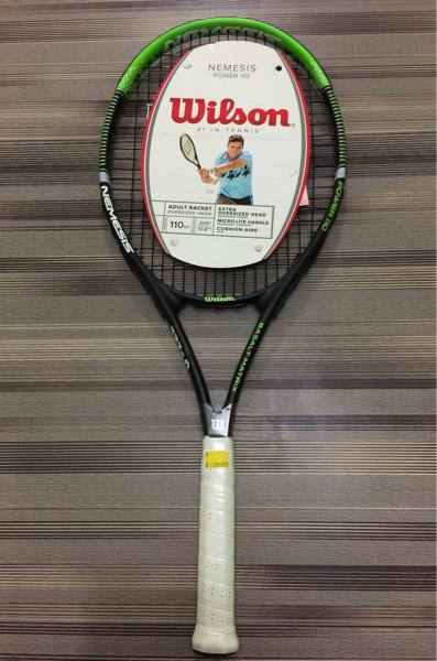 harga Raket tenis wilson nemesis power 110 + senar dan cover Tokopedia.com