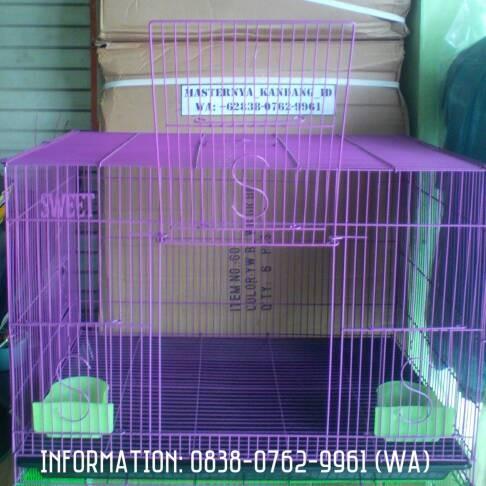 harga Kandang Besi Lipat Besar Sweet U/ Kucing/kelinci/burung/ayam & Lainnya Tokopedia.com