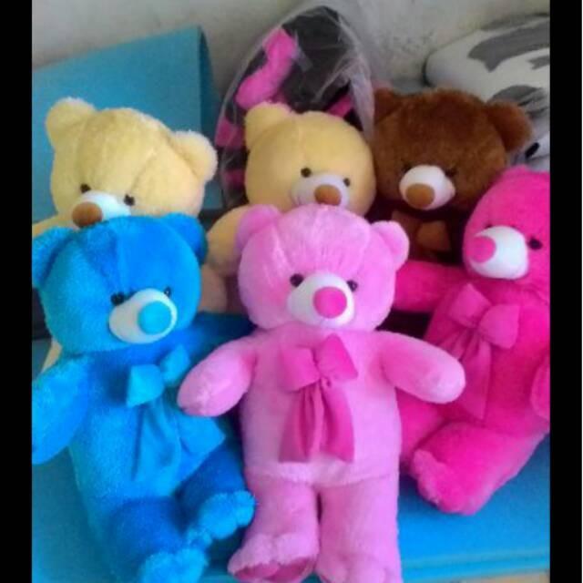 Jual Boneka Teddy Bear Lucu Varian Warna Murah Meriah - Istana ... a5e39f388c