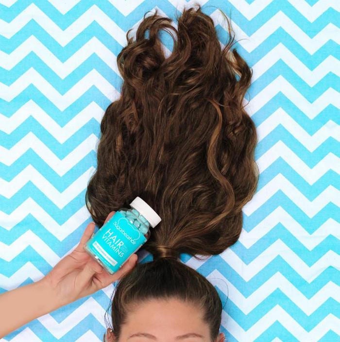 Sugar Bear Hair Permen Gum Vitamin Suplemen Rambut USA Ori