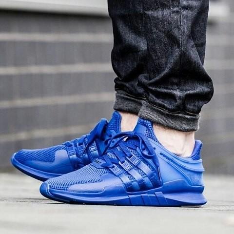 harga Adidas eqt adv 91-16 blue premium original ( sepatu cowok sepatu lari Tokopedia.com