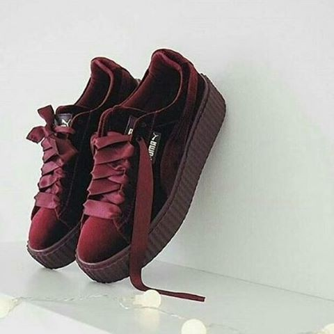the best attitude 4d03c e4a81 Jual PUMA Rihanna Maroon Premium Original ( Sepatu cewek sepatu puma fenty  - DKI Jakarta - A & D Shoes Shop | Tokopedia