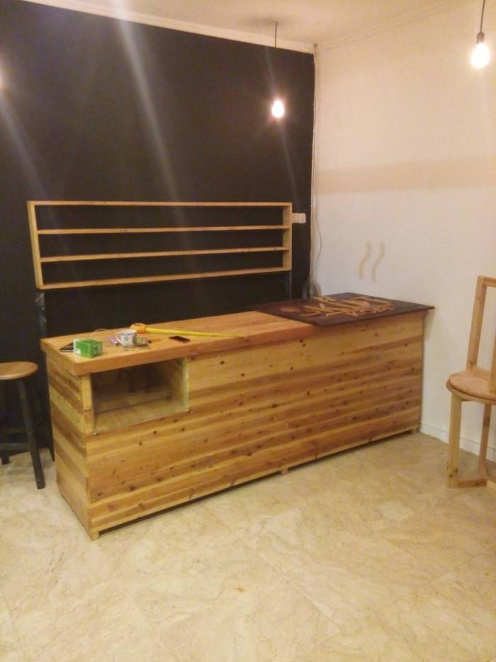 Jual Furniture Kayu Pallet Rumah Cafe Kantor Studio