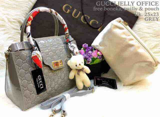 Tas Gucci Jelly Office Super Import Quality!