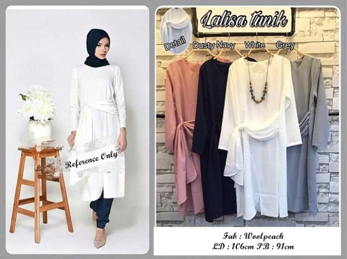 Lalisa Tunik Style Baju Hijab Ladies / Wanita