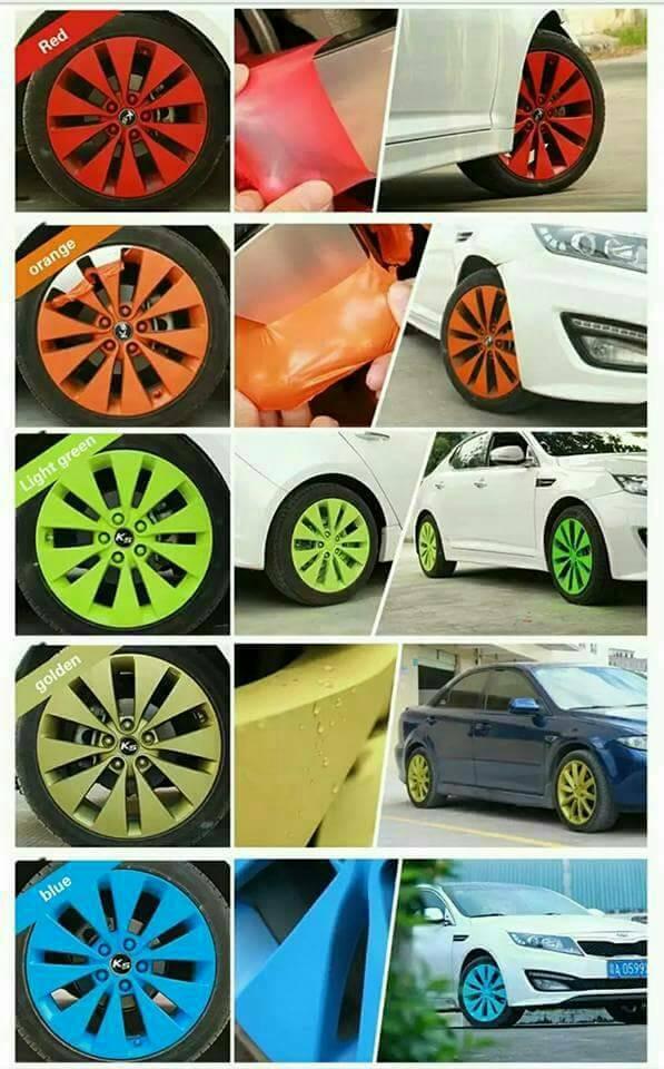 Carlas rubber paint ~ warna standar