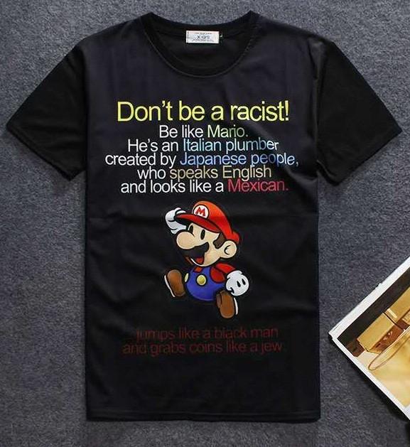 harga Baju kaos tshirt fullprint superhero cartoon kartun super mario bros Tokopedia.com