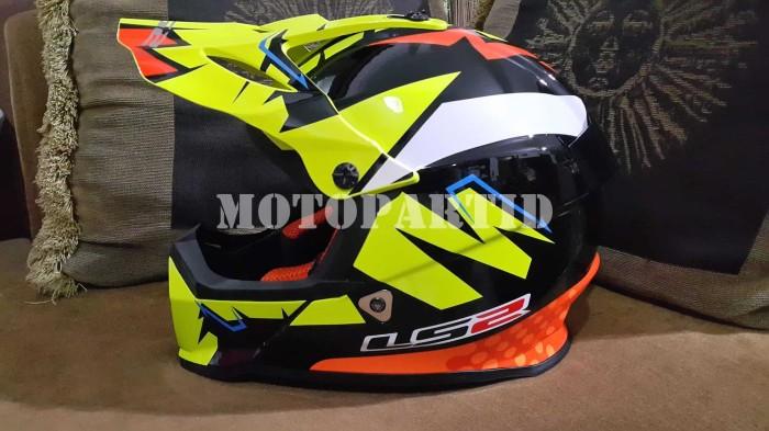harga Helm motocross ls2 mx437 - fast - volt - rep. isaac vinales Tokopedia.com
