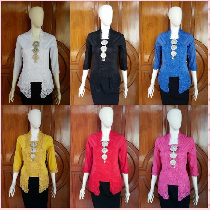 Jual Bluse Wanita Baju Kebaya Kartini Modern Baju Batik Kerja Wanita Kota Surakarta Gayuhrahayu Batik Online Tokopedia