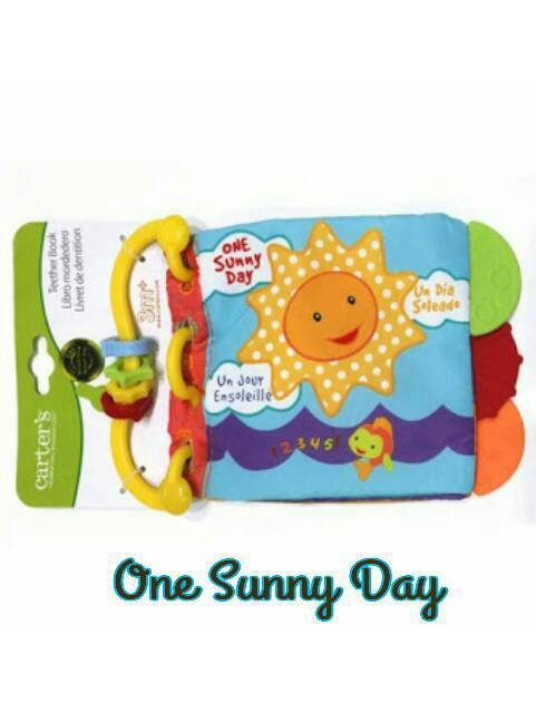 Jual Soft book teether  mainan bayi buku bantal  soft book carter ... c54c398c09