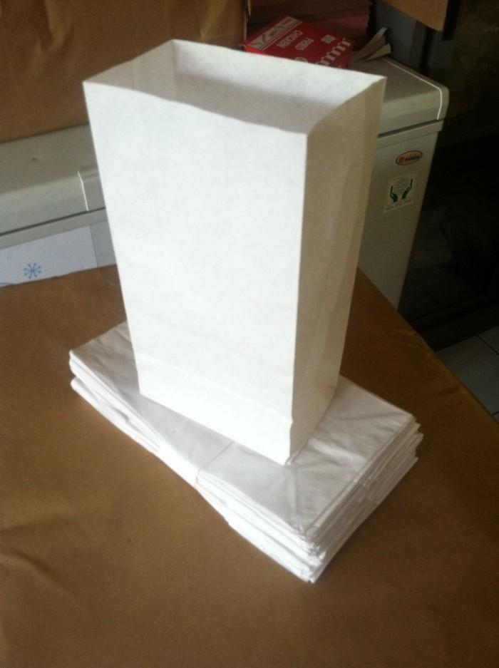 Paper Bag - Kantong Burger - Kantong Kertas- kantong kertas putih