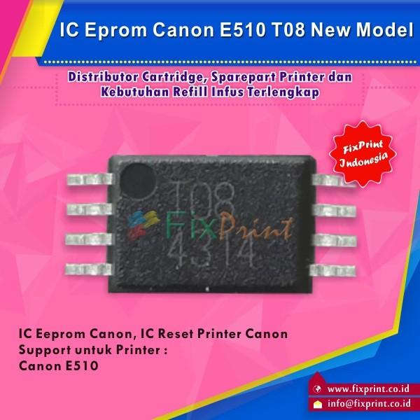 harga Eprom e510 canon t08 ic eeprom reset canon e510 new model murah Tokopedia.com