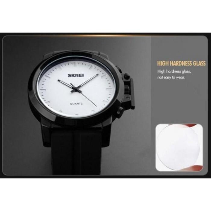 harga Jam Tangan Kulit Pria Skmei Men Leather Strap Watch Water Resist 1208 Blanja.com