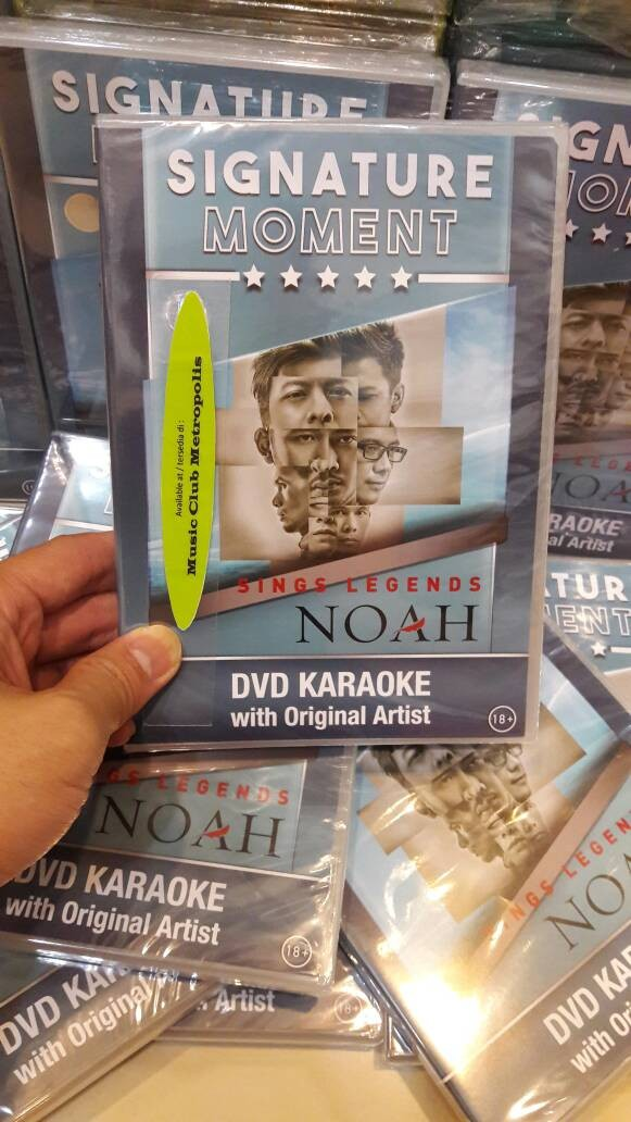 harga Dvd karaoke noah - sings legends (2017) Tokopedia.com