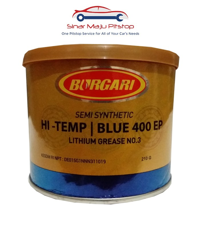 harga Burgari semi synthetic lithium grease - gemuk serbaguna 210 gram Tokopedia.com