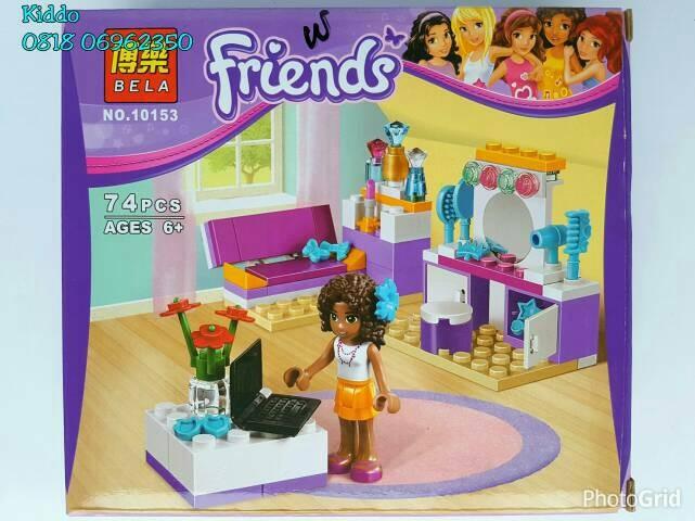 Jual Lego Friends Bedroom 5 Emma Olivia Stephanie Mia Andrea