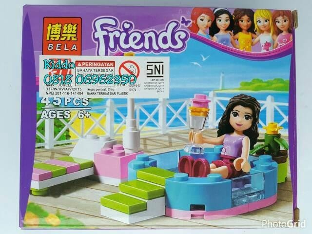 Jual Lego Friends Beach 4 Emma Olivia Stephanie Mia Andrea
