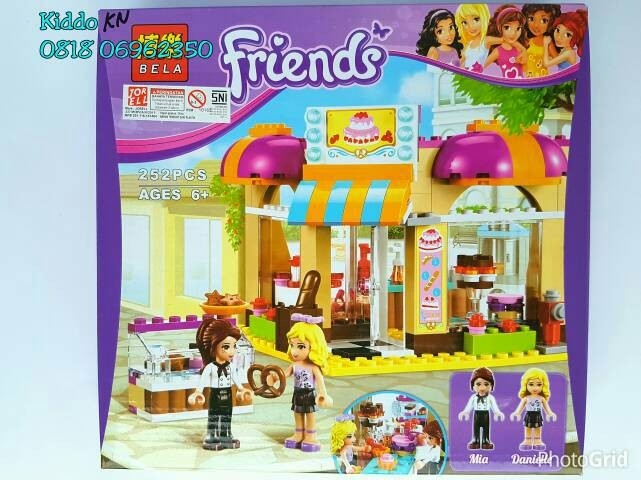 Jual Lego Friends Cake Store 10 Emma Olivia Stephanie Mia