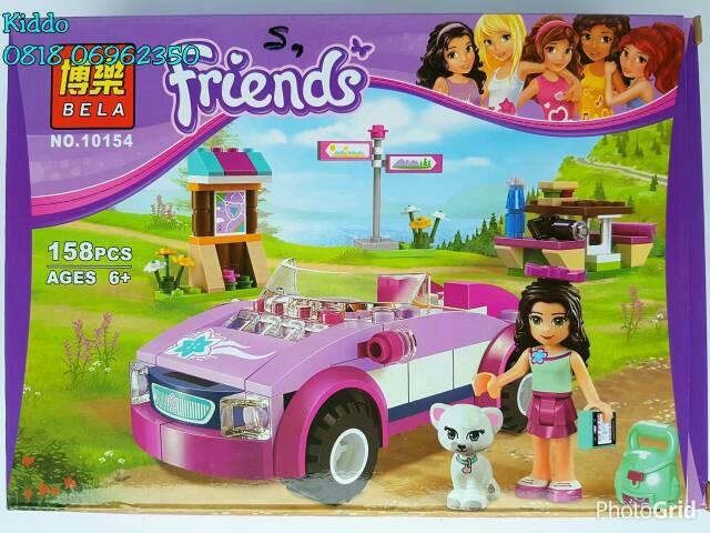 Jual Lego Friends Car And Cat 7 Emma Olivia Stephanie Mia