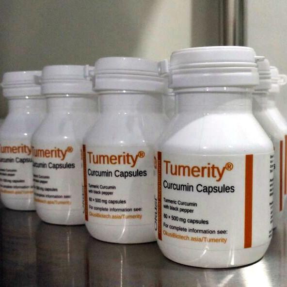 Foto Produk Tumerity Curcumin from Turmeric (Kunyit) 500mg dari Okusi Biotech