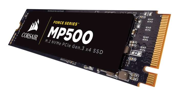 Foto Produk Corsair 480GB CSSD-F480GBMP500 Force Series MP500 - M.2 NVMe PCIe dari Light Gaming Shop