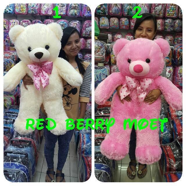 harga Boneka teddy bear 75 cm / beruang 75 cm / tedy bear Tokopedia.com