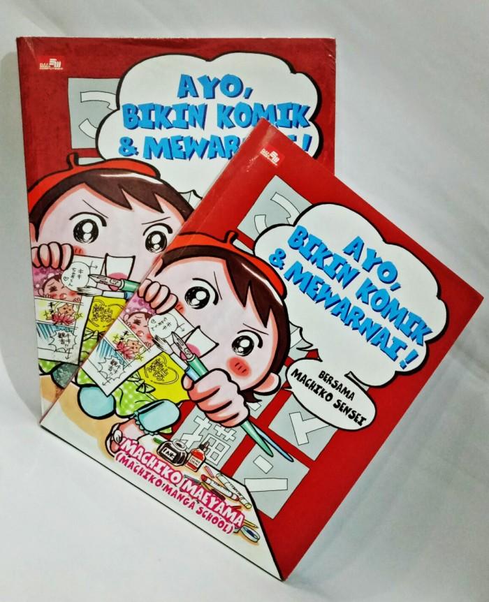 Jual Ayo Bikin Komik Mewarnai Buku Online Murah Bom Tokopedia