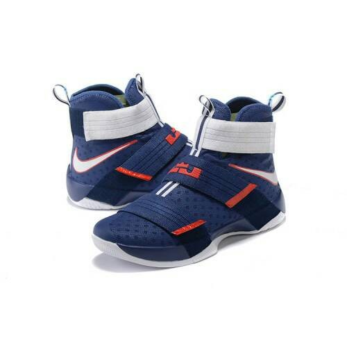 dcb27152553 ... Original 844379-416 NIKE Basketball James Lebron Soldier 10 39USA39 -  Sepatu .