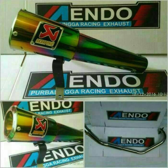 harga Knalpot racing akrapovic gard rainbow honda cs1 / verza / sonic Tokopedia.com