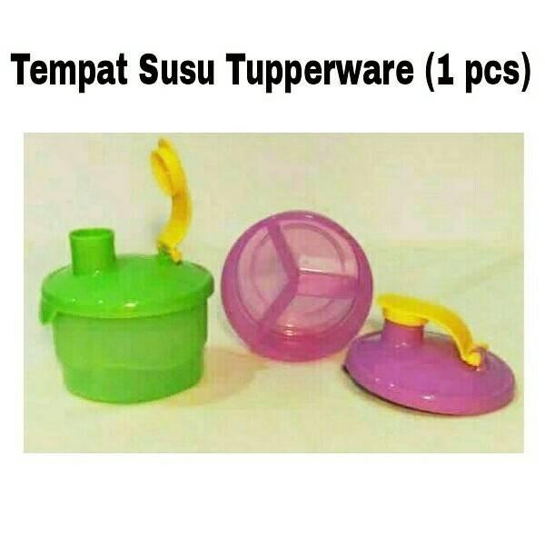 1 Pcs Tempat Susu Tupperware - Formula Dispenser