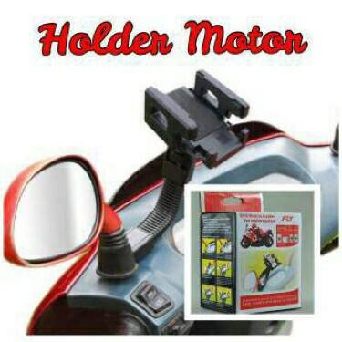 harga Holder handphone / gps universal / stang spion sepeda motor flexibel Tokopedia.com