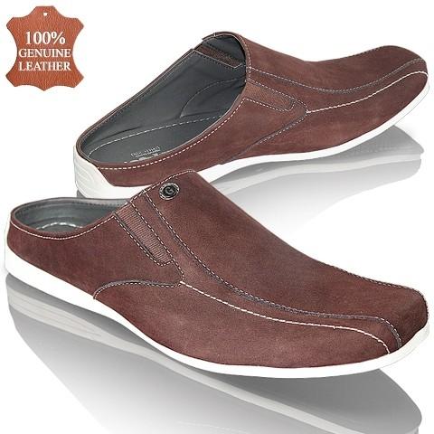 Jual Sandal Bustong Kulit Pria Sepatu Bustong Sandal Kulit Laki-laki ... e5e28a138f