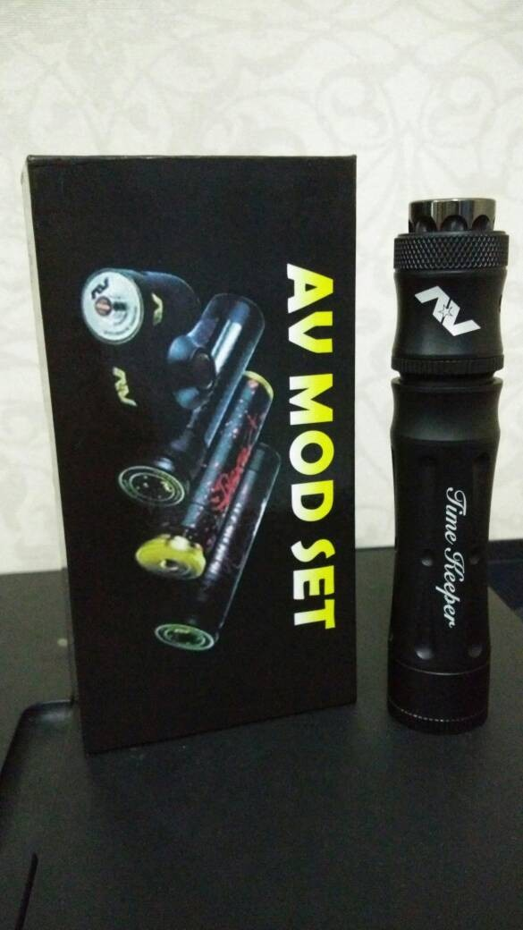 Foto Produk time keeper kit black dari vapepower