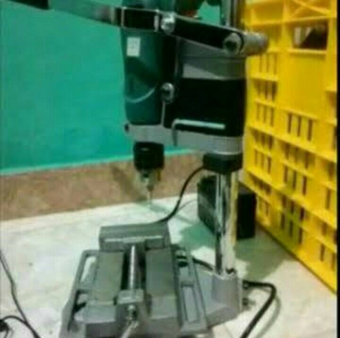 harga Dudukan mesin bor + penjepit catok 3  carson - drill stand Tokopedia.com