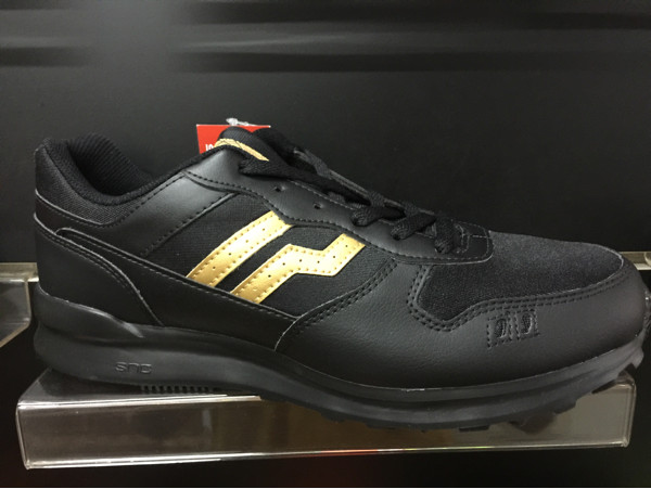 Jual Sepatu casual piero Jogger union original murah black gold ... d22109ddce