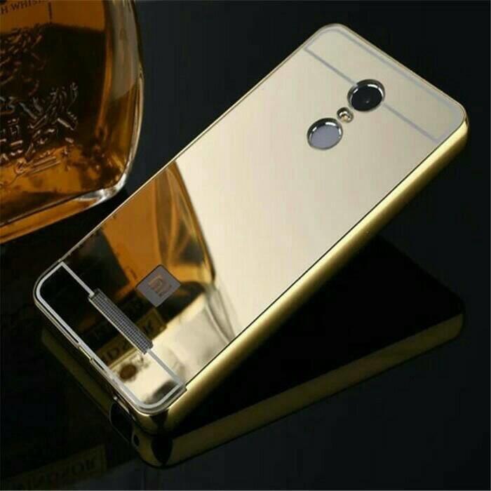 Bumper Mirror Case Oppo Joy 3 /Hardcase/Slide/Hard/Casing