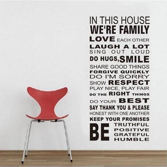 jual wallsticker/wall stiker-60x90-df5206-words - kota administrasi