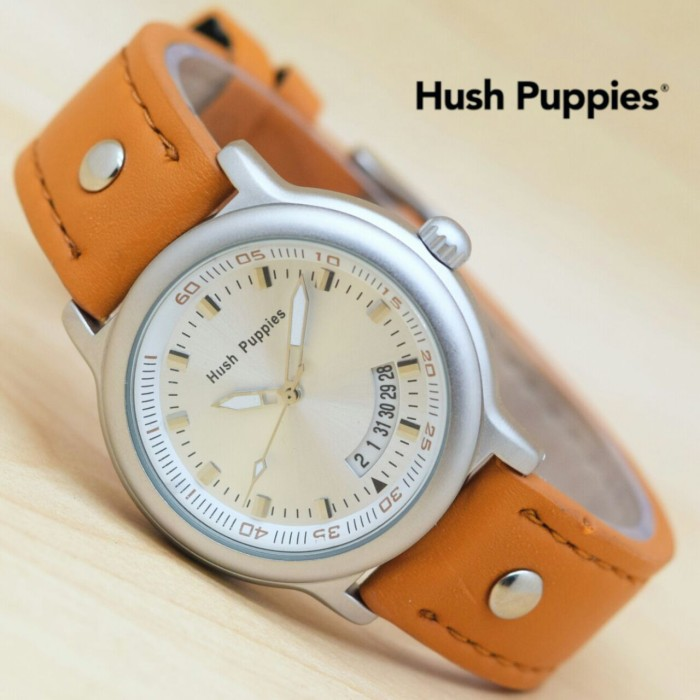 Jam tangan wanita hush puppies leather