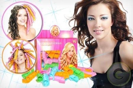 Foto Produk Magic Leverag Curly Salon Roll Keriting Rambut Fashion wanita Hair art dari dadikstore