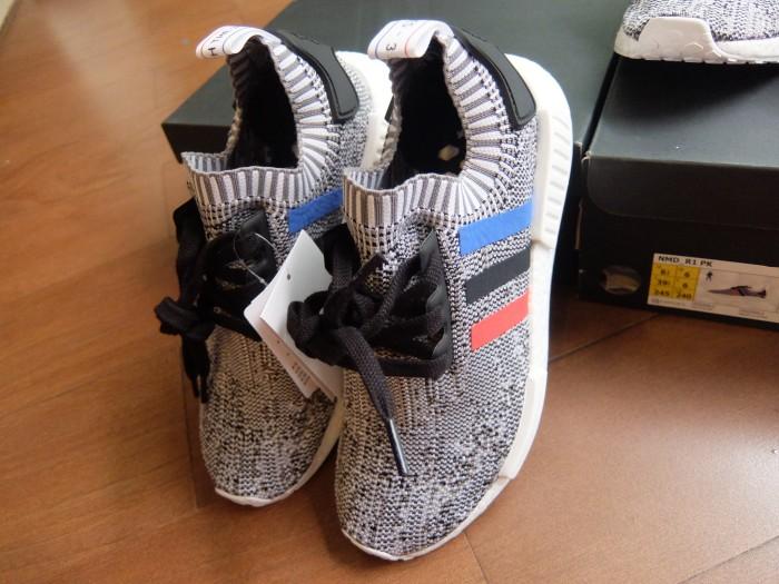 a85f98ee0 Jual ORIGINAL Adidas NMD R1 PK ( PrimeKnit ) TRI Color White - Kota ...