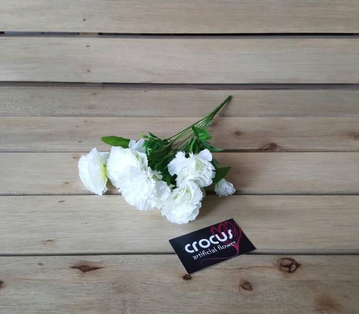 harga Bunga carnation artificial / bunga palsu / bunga plastik / bunga kain Tokopedia.com
